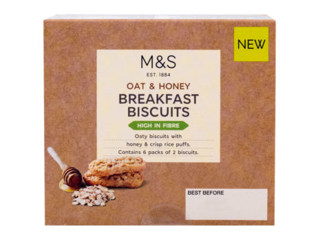 Oat And Honey Breakfast Biscuits  180 gr