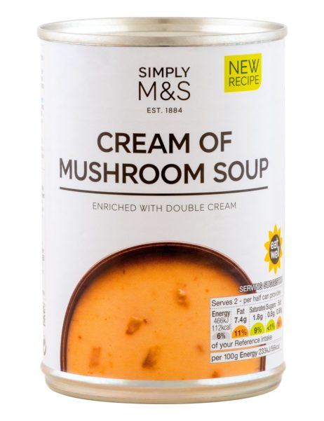 Cream Of Mushroom Soup  400 gr