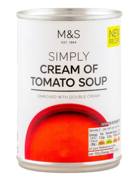 Cream Of Tomato Soup  400 gr