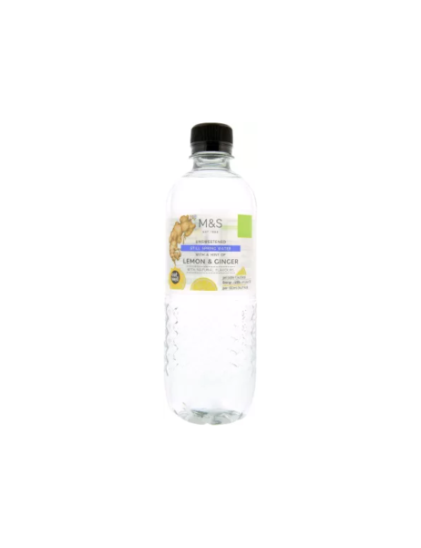 Still Spring Water With A Hint Of Lemon & Ginger 500 Ml