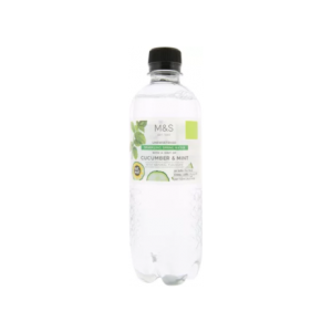 Sparkling Spring Water With A Hint Of Cucumber & Mint 500 Ml