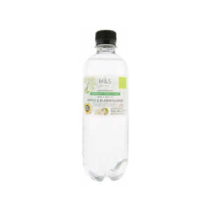 Sparkling Spring Water With A Hint Of Apple & Elderflower 500 Ml