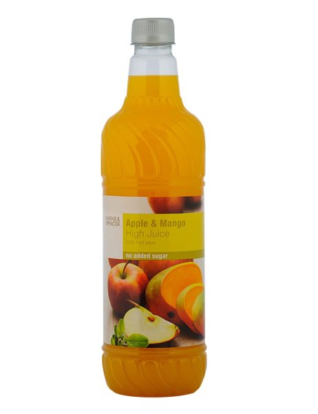 Apple & Mango High Juice  Sugar Free  1 Lt