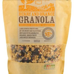 Berry & Orange granola 500 gr