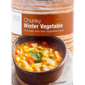 Winter Vegetable Soup 400 gr