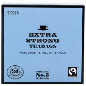 80 Extra Strong Teabags 250 gr