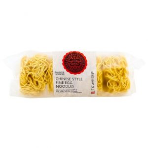 Chinese style fine egg noodles 250 gr