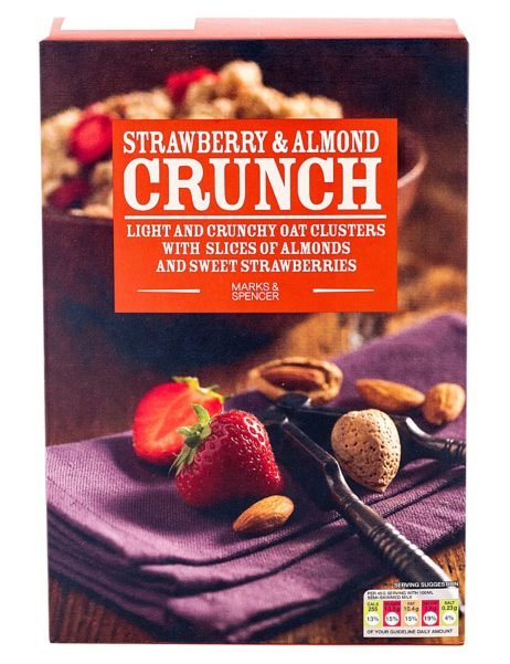 Strawberry & Almond Crunch 500 gr