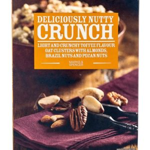 Deliciously Nutty Crunch Oat Clusters 500 gr