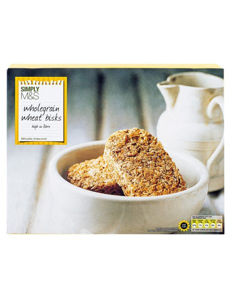 Wholegrain Wheat Bisks 480 gr