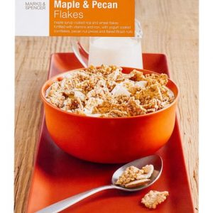 Maple & Pecan Flakes  375 gr