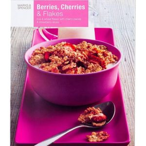 Berries, Cherries & Flakes  375 gr