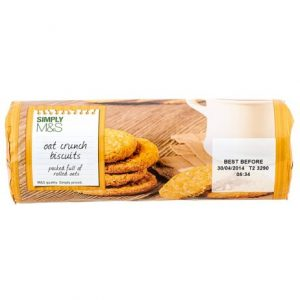 Oat crunch biscuits  300 gr