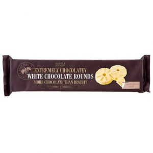 White chocolate rounds  180 gr