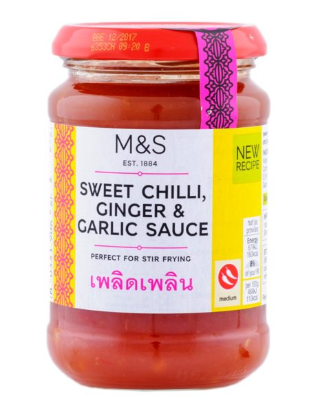 Sweet Chilli, Ginger & Garlic Sauce  290 gr