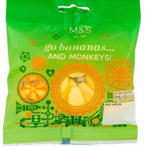 Foam Bananas  And Monkeys 70 gr