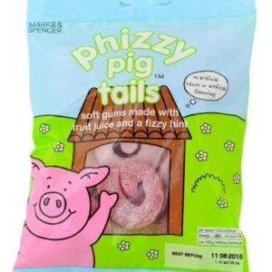 Phizzy pig tails 170 gr