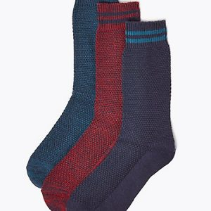 3 Pack Cotton Rich Cool & Fresh Socks