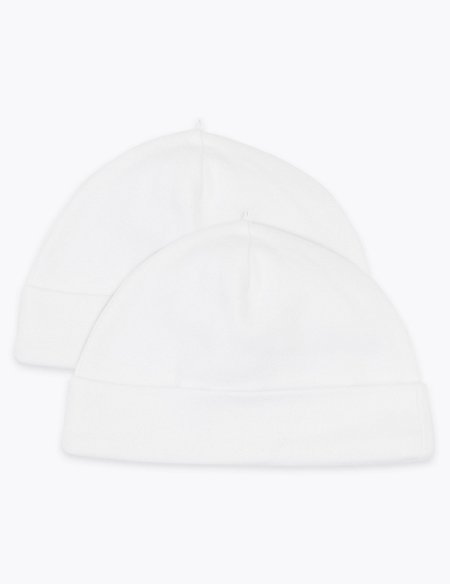 2 Pack Organic Cotton Hats