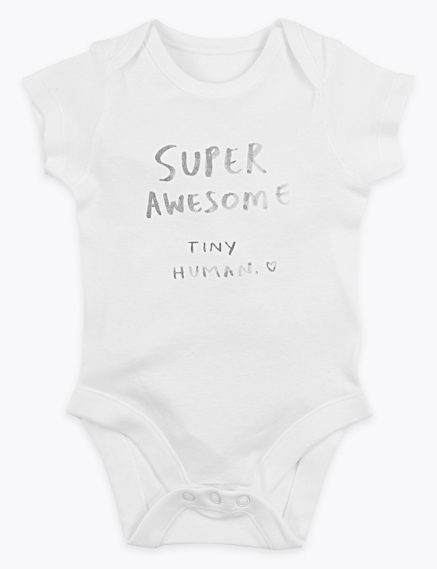 Organic Cotton Awesome Bodysuit -(7lbs-12 Mths)