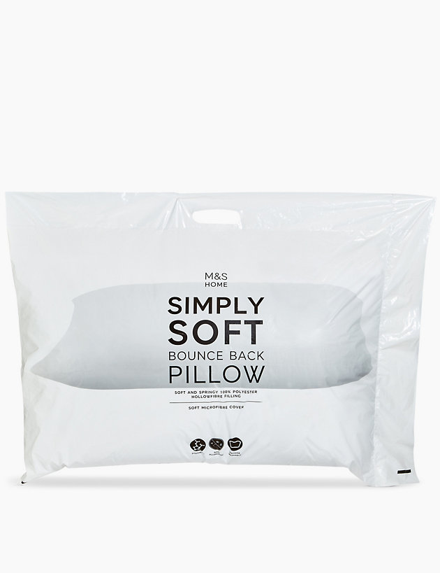 Simply Soft Bounceback Pillow