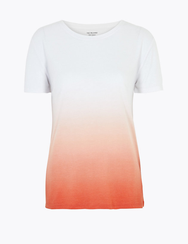 Colour Block Relaxed T-Shirt