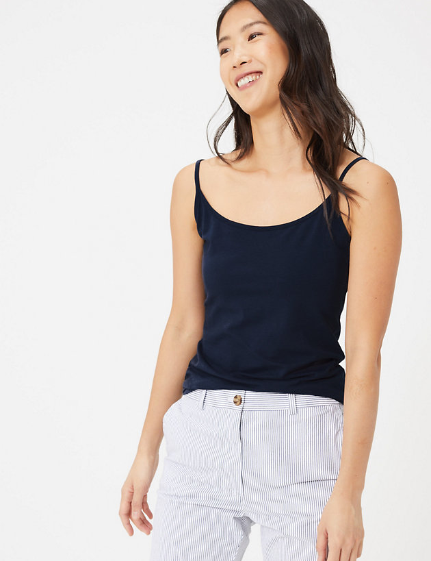 Cotton Fitted Camisole Top