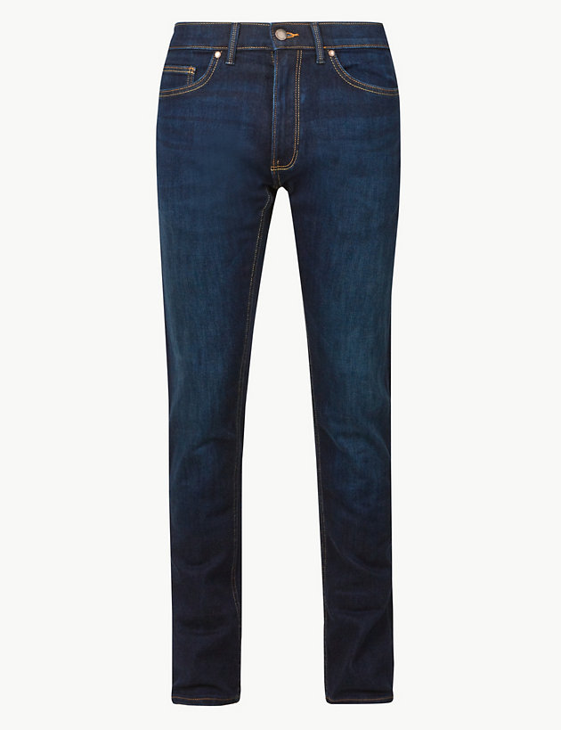Big & Tall Regular Fit Cotton Jeans