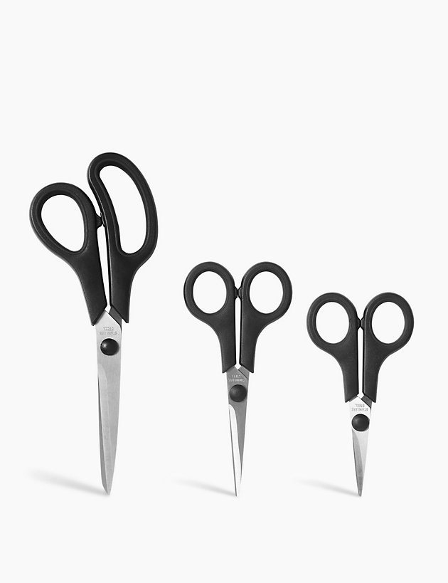 Pack of 3 Scissors