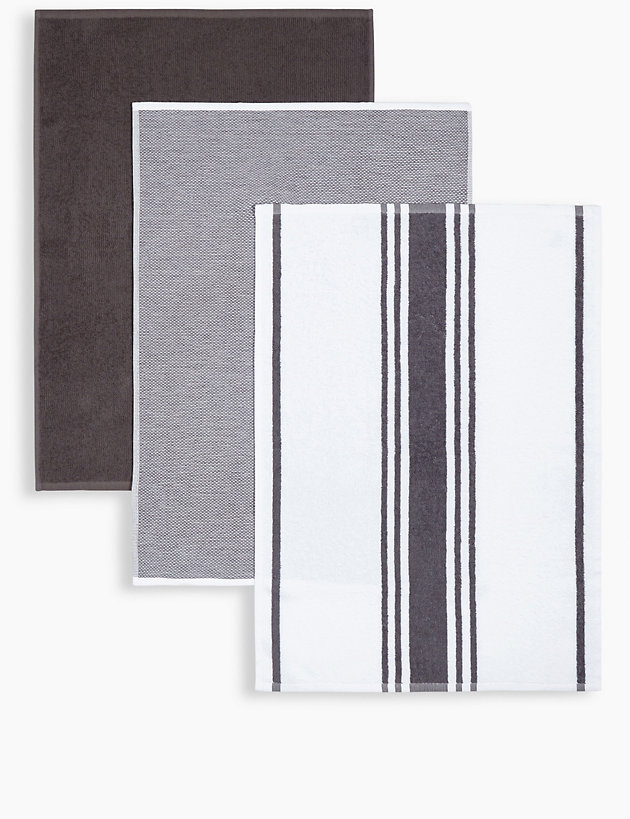 Set of 3 Assorted Hand Towels