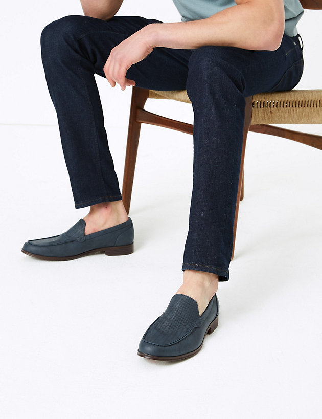Slip-On Apron Loafers