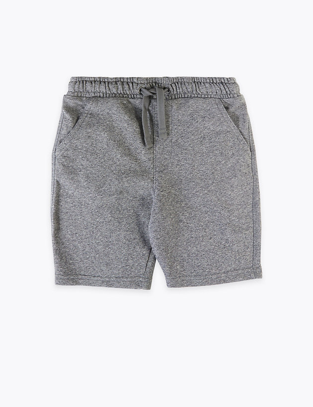 Cotton Jersey Shorts (6-16 Years)