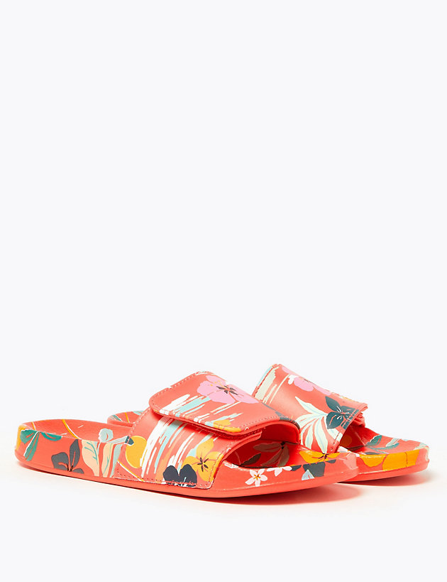 Kids' Floral Sliders (13 Small - 6 Large)