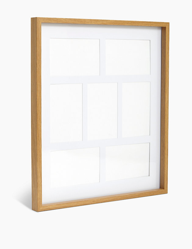 7 Aperture Wood Photo Frame