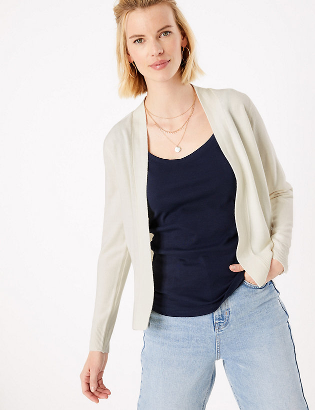 Cashmilon  Edge to Edge Cardigan