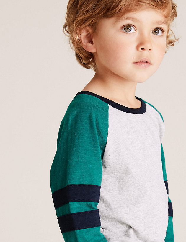 Cotton Rich Patterned Top (2-7 Yrs)