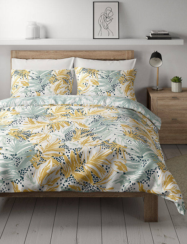 Cotton Mix Abstract Bedding Set