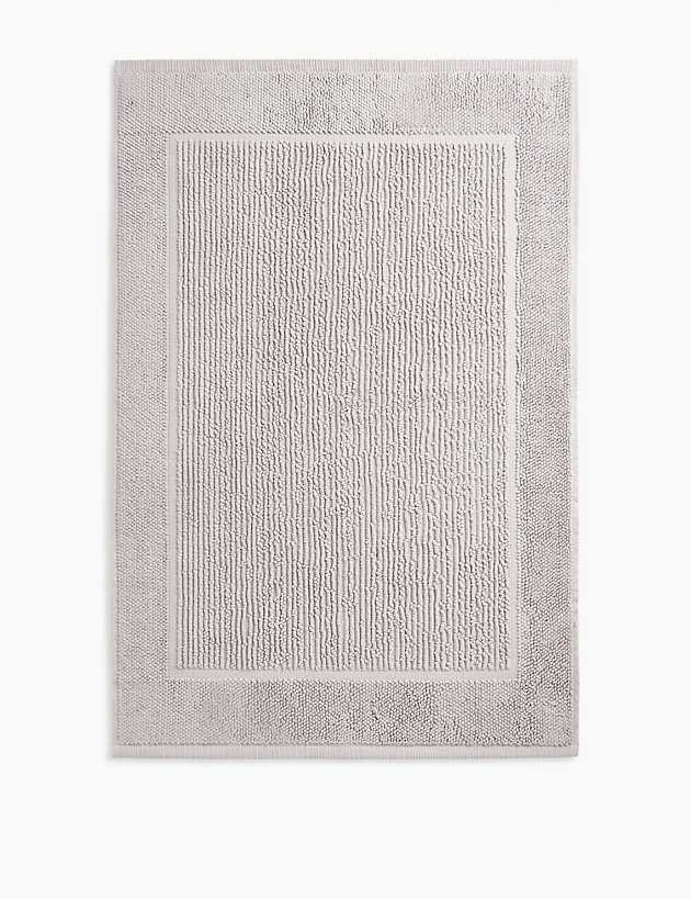 Pure Cotton Textured Bath Mat