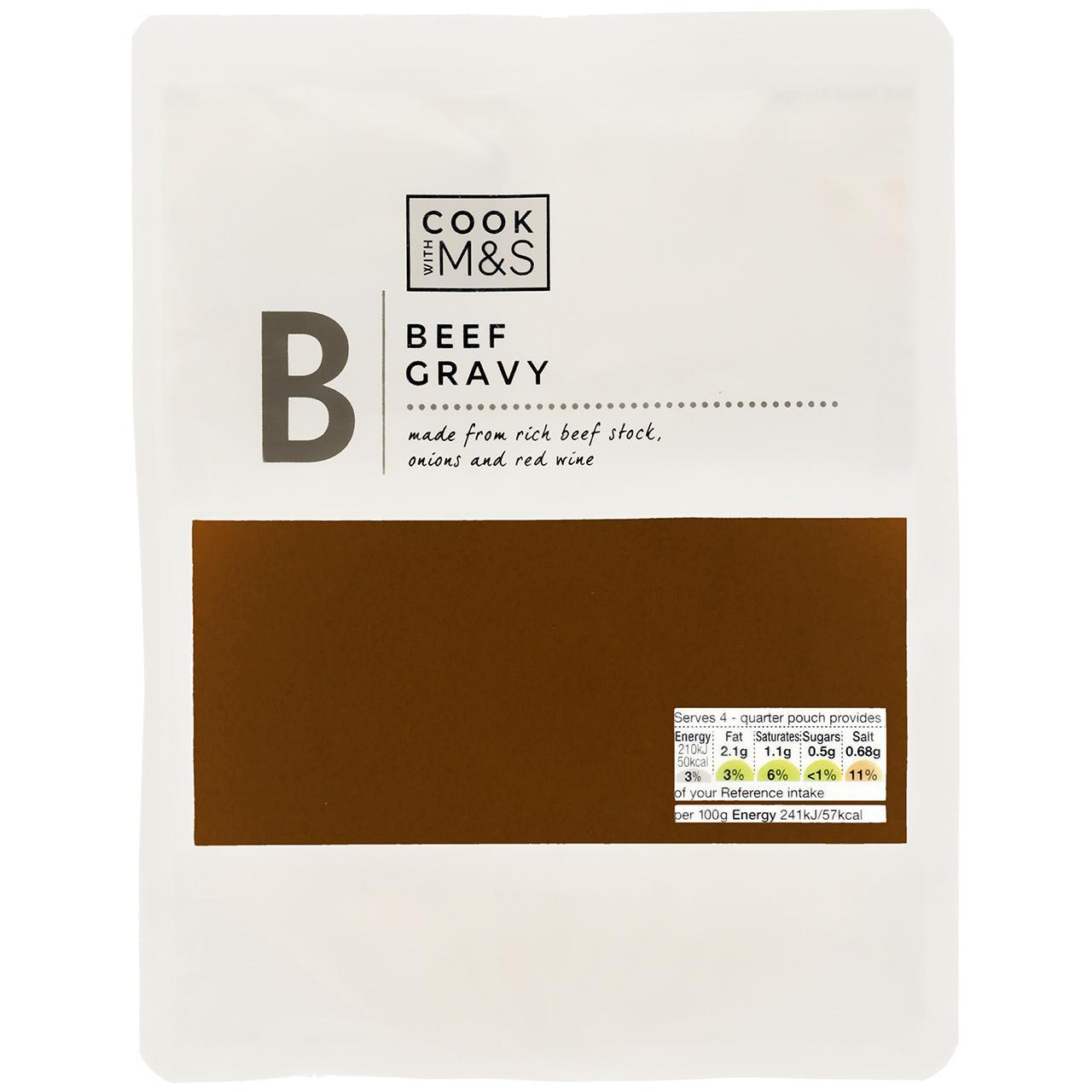 Cook With M&S Beef Gravy 350g