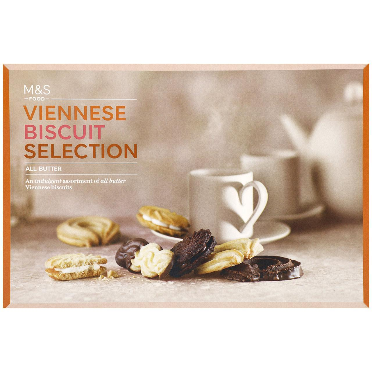 All Butter Viennese Biscuit Selection 450g