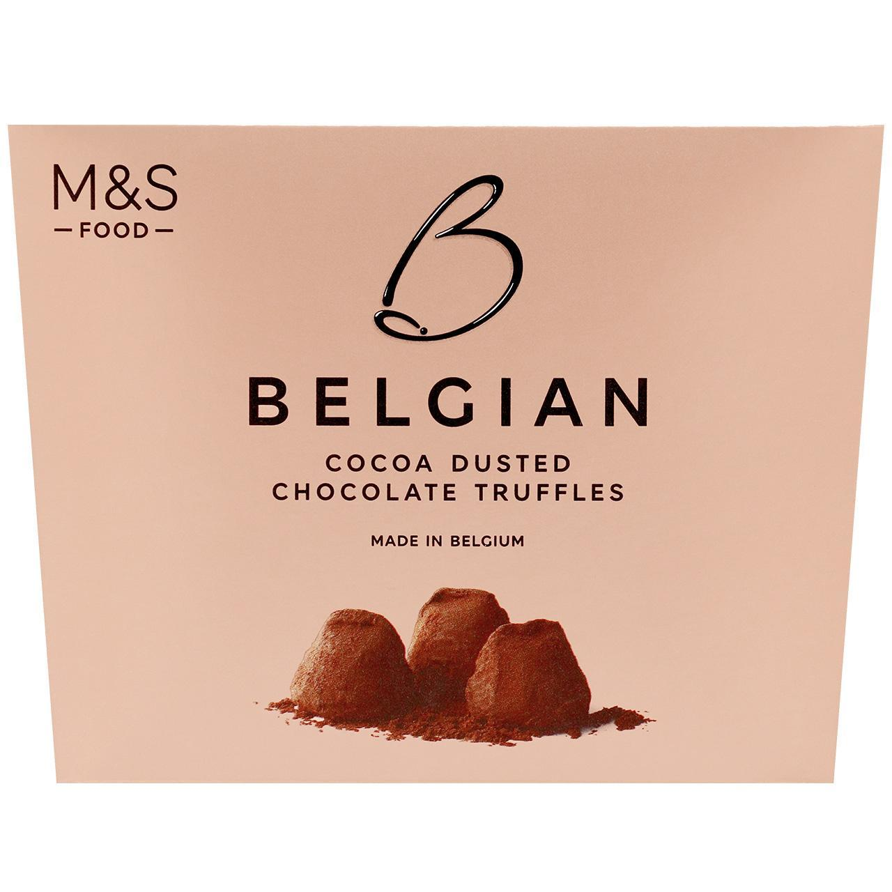 Belgian Cocoa Dusted Chocolate Truffles 260g