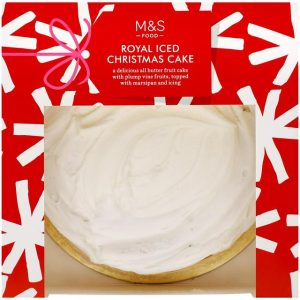 Royal Iced Christmas Cake1.13kg