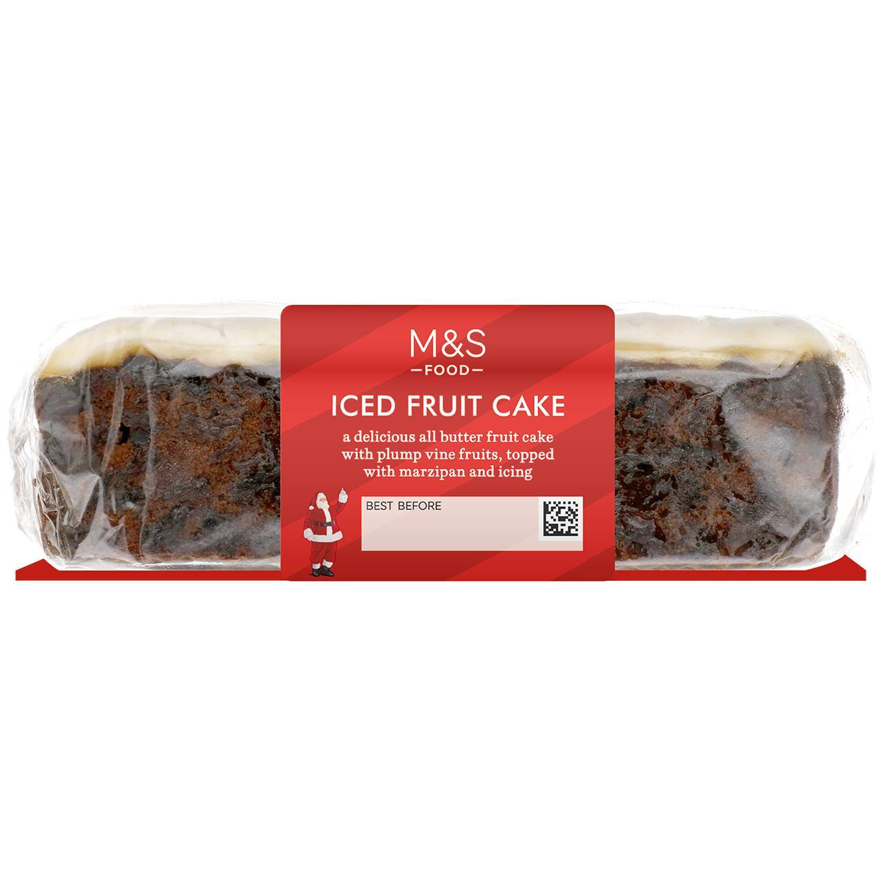 Iced Fruit Cake Bar 450g