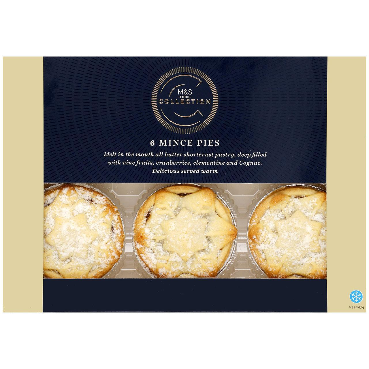 Collection 6 Mince Pies 329g