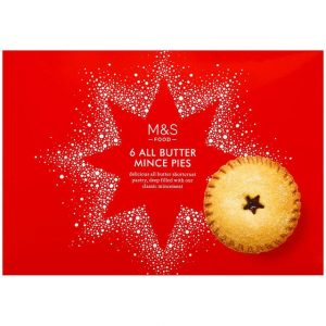 6 All Butter Mince Pies 350gr