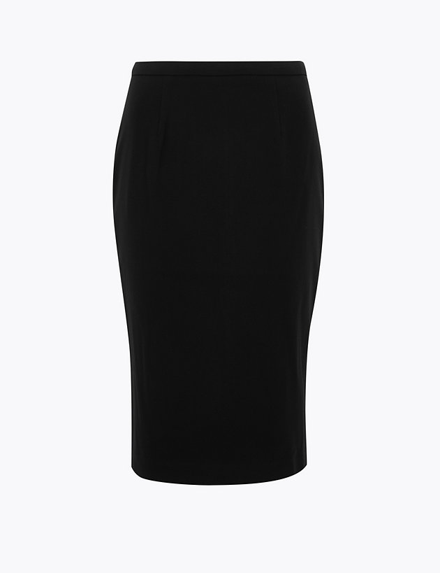 Knee Length Pencil Skirt
