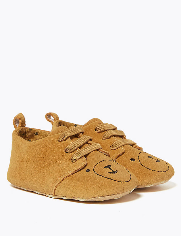 Baby Suede Pram Shoes (0-12 Mths)