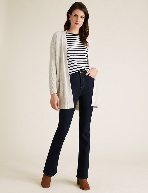 Eva Bootcut Jeans with Stretch