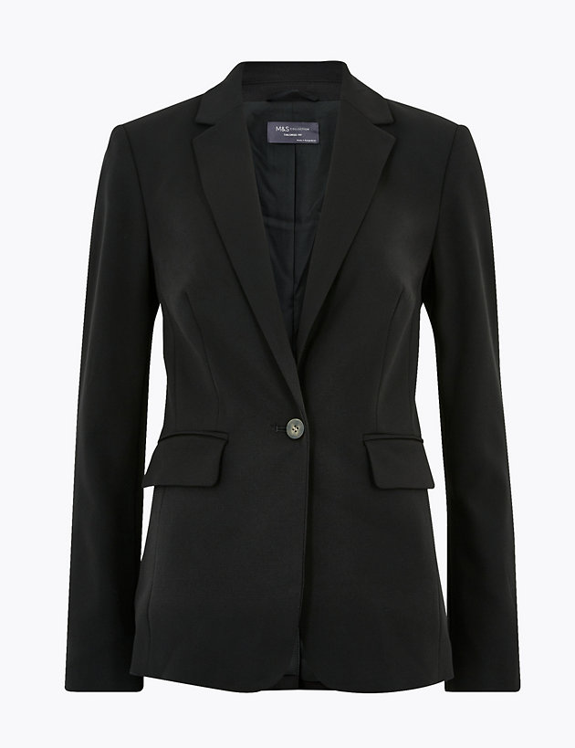 Tailored Single Breasted Blazer