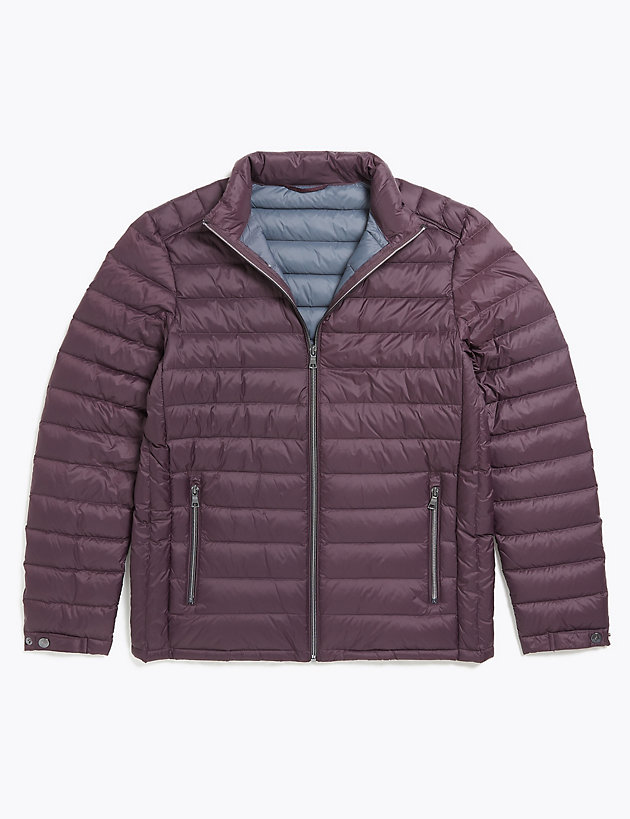 Down & Feather Puffer Jacket